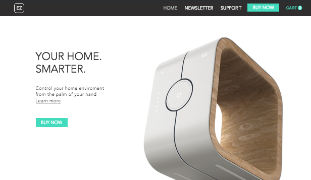 Online Store website templates – Home Tech Store