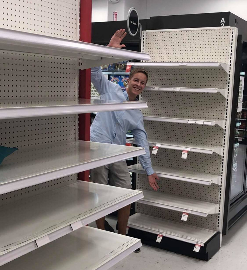It was almost impossible to find bottled water in Chapel Hill
