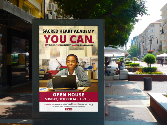 Open House Outdoor Ad — part of a series