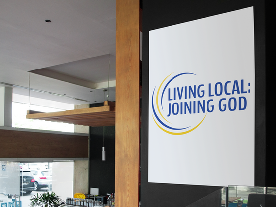 Logo for Living Local: Joining God initiative