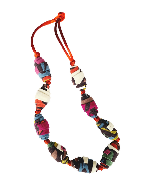 Fabric Necklace