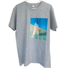 Macaw T-shirt OWMI slipping-print on grey