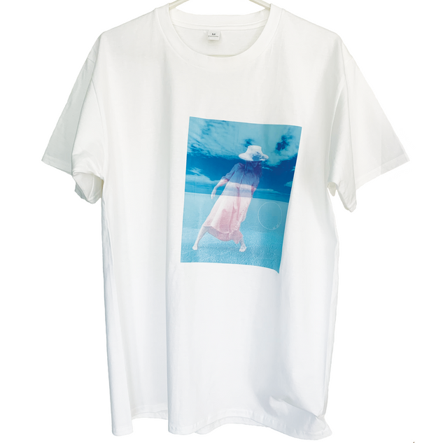 Macaw T-shirt OWMI slipping-print on white