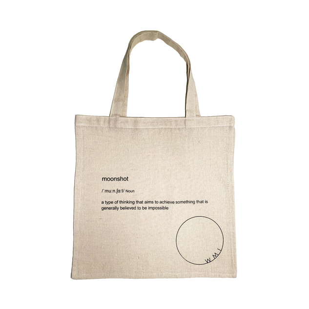 Macaw tote bag OWMI Moonshot