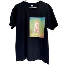 Macaw T-shirt OWMI slipping-print on black