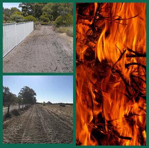 Firebreak, slashing and fire mitigation