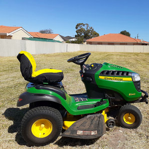 Large area mowing