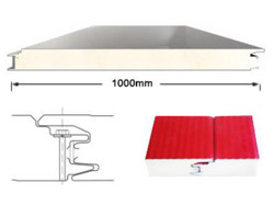 Concealed nail wall panelⅡ- Polyurethane composite sandwich panel
