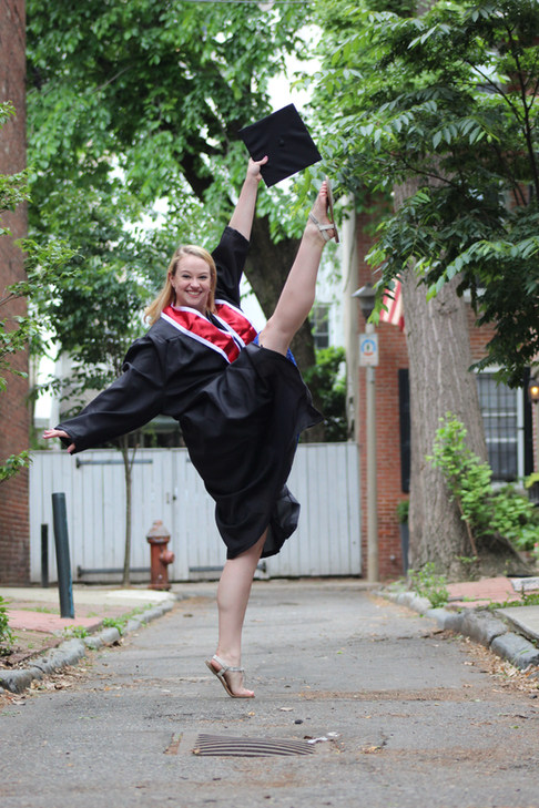 Graduating with my BFA in Musical Theatre