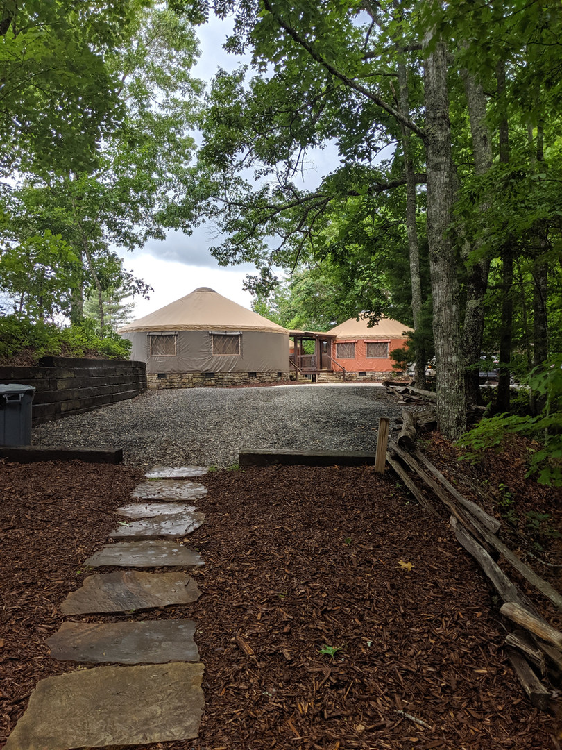Tucked away in the woods on the Ridge, the Tuckaseegee is a wonderful private place to spend quality time with your friends and family.