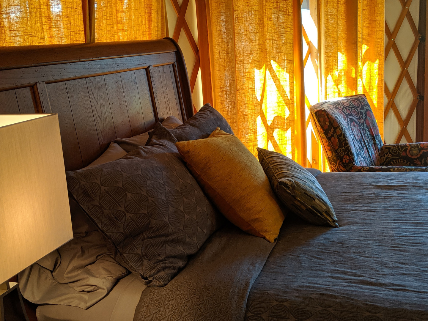 """Our beds are described as """"heavenly beds"""" by many of our guests."""