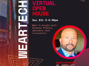 WearTech Virtual Open House Dec 8-2020