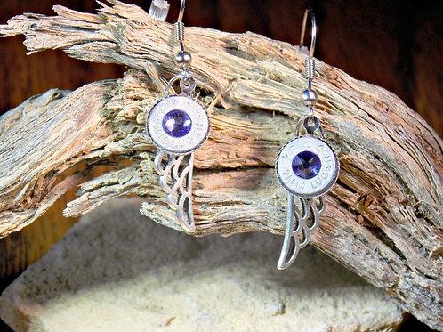 9mm Angel Charm Earrings