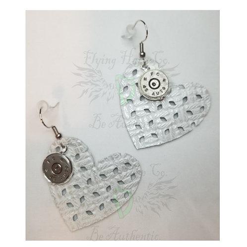 45mm Heart Dangle Earrings