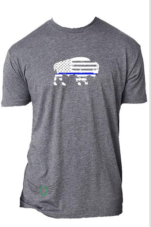 Blue Line Bison T-Shirt