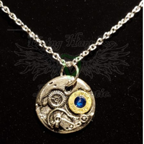 .380 Auto Steampunk Necklace