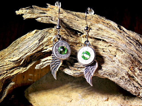 9mm Hope Angel Earrings