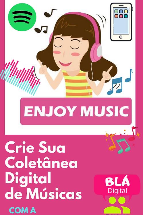 Curso - Crie sua Coletânea Digital de Músicas com a Blá