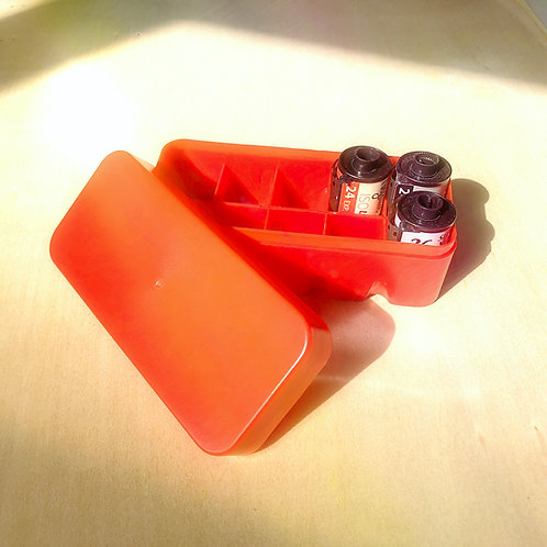 Hard Plastic Film Storage Box