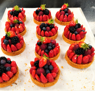 Tartelettes fruits rouges