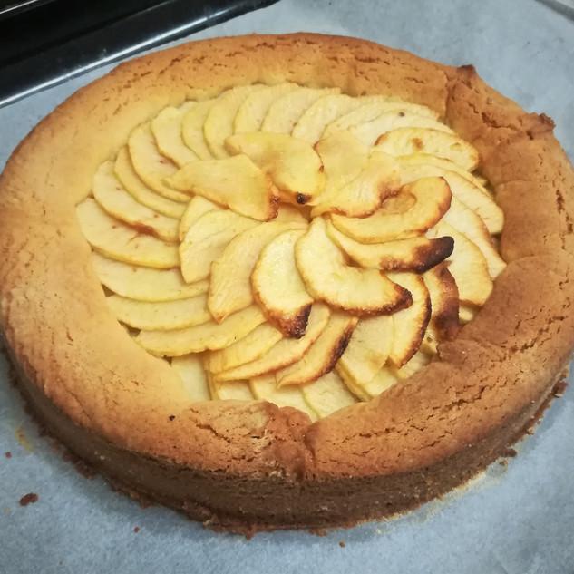 Tarte aux pommes façon cake