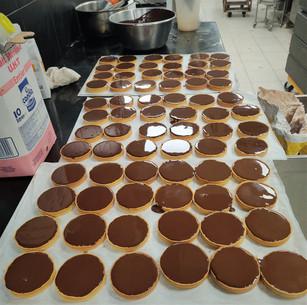 Tartelettes chocolat Barry 64%