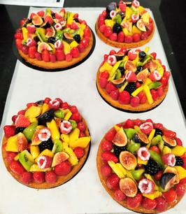 Tartes multifruits