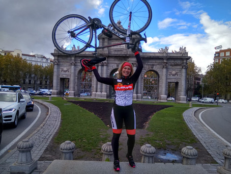 #25N. Madrid-Oviedo en bici non stop