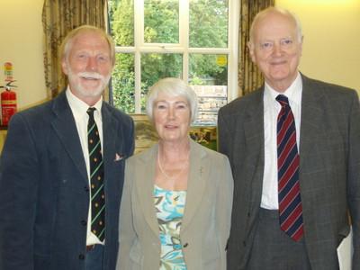 Bob Heaton with Veronica Oliver and Sir Hugo