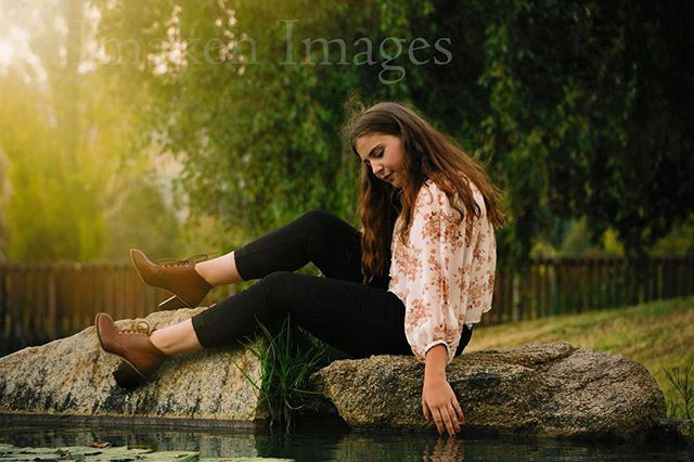 Maddie at the Arboretum