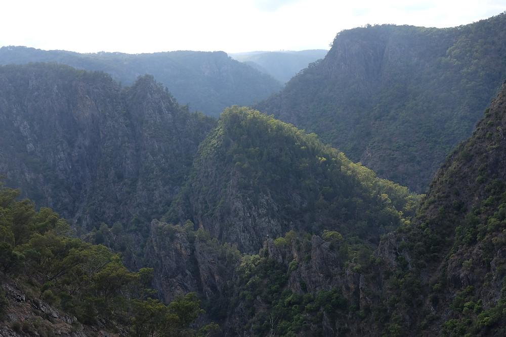 The beautiful Dangar's Gorge and Falls near Armidale