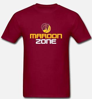 Maroon Zone tshirt.JPG