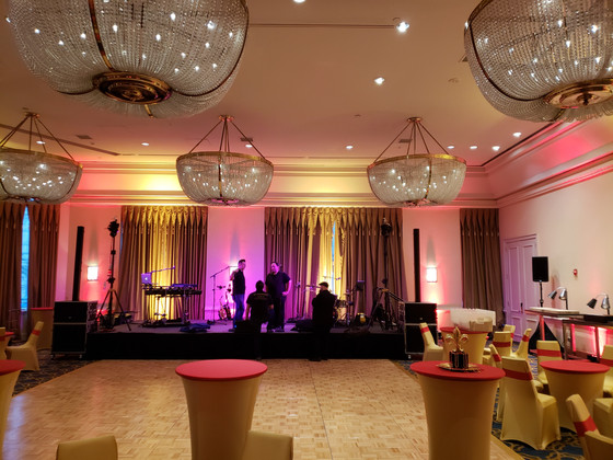 "Venue and obligatory ""office"" pics from last night's Orpheus Captain's Ball at the"