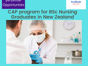 CAP program for Nurses to become a registered Nurse in New Zealand