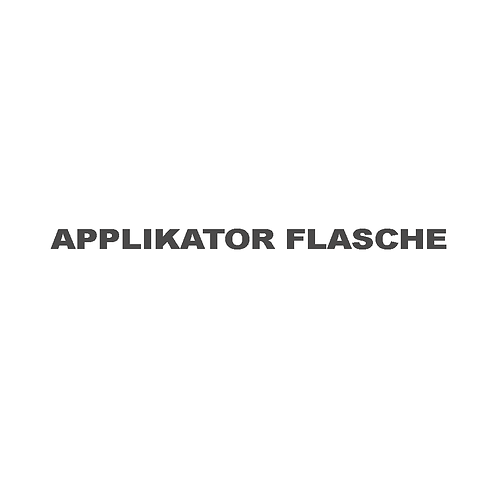Applikator Flasche