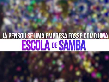 Vamos falar sobre escolas de samba