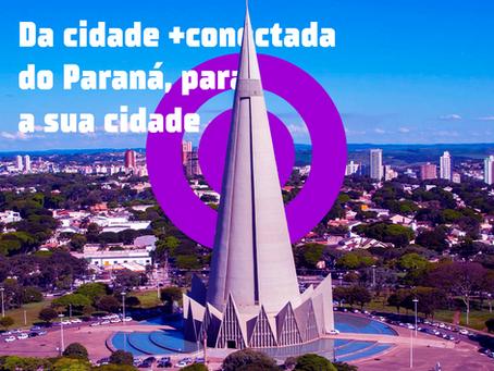 Da cidade + conectada do Paraná, para a sua cidade
