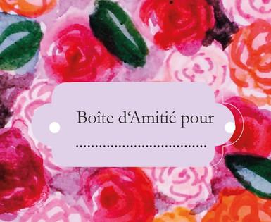 Boîte d'Amitié Geschenksbox