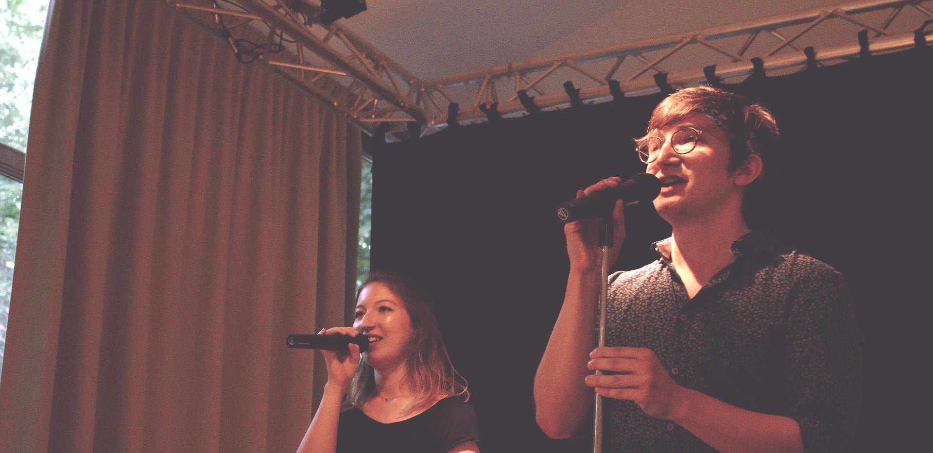 Istvan+Kathi @ Enjoy your Voice Sommerkonzert