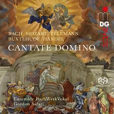 """""""Cantate Domino"""" – BachWerkVokal Ensemble Debut Album veröffentlicht bei MDG in 2019"""