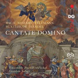 """""""Cantate Domino""""Debüt-Album des Ensembles BachWerkVokal erschienen 2019 bei MDG"""