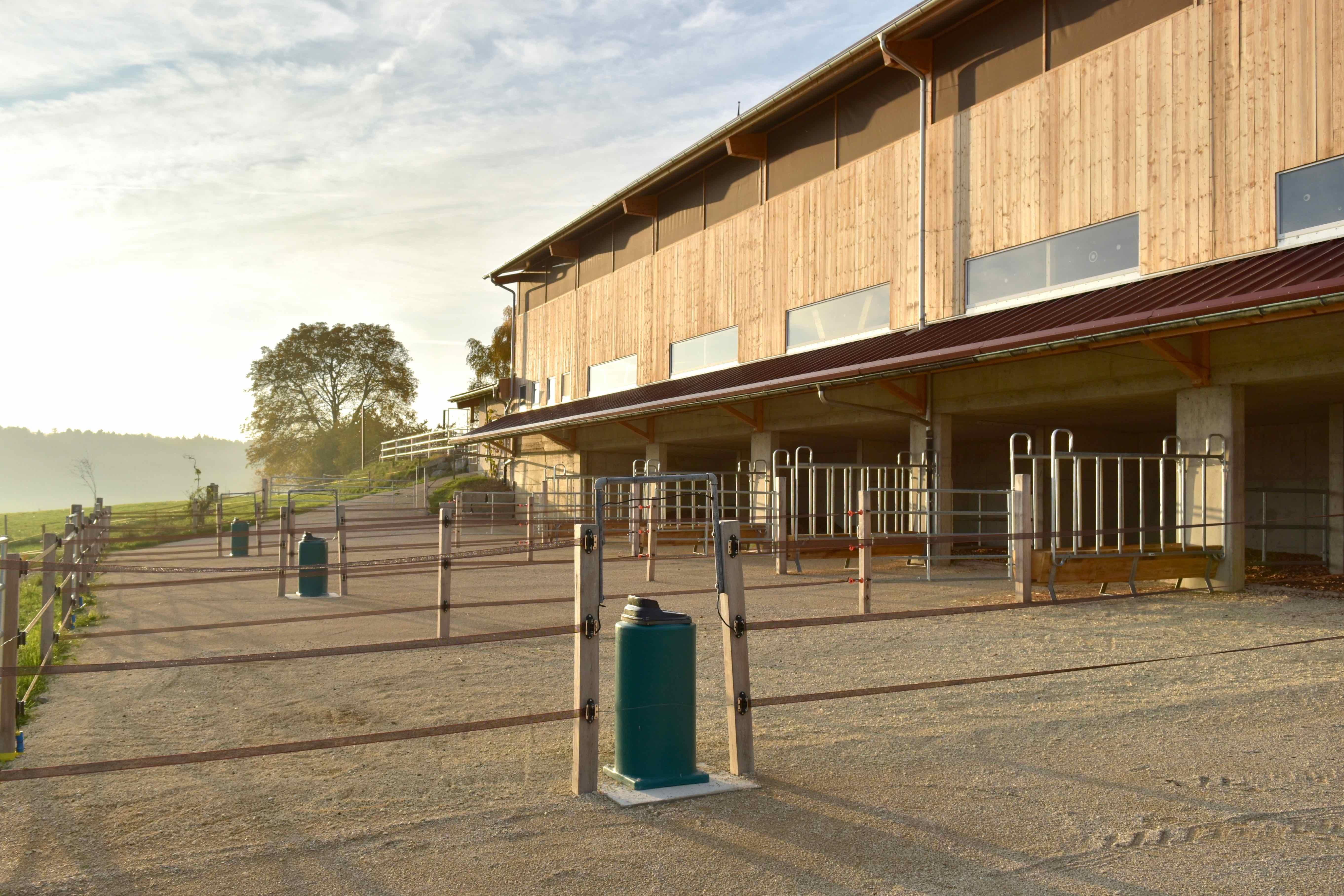 Unser Hof | Neubau Stall 2018