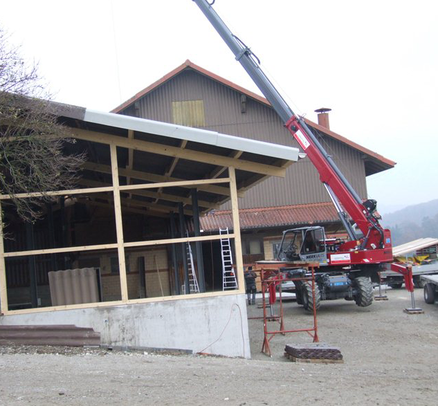 Neubau Weierholz 2013