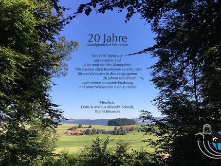 20 Jahre Islandpferdehof Weierholz