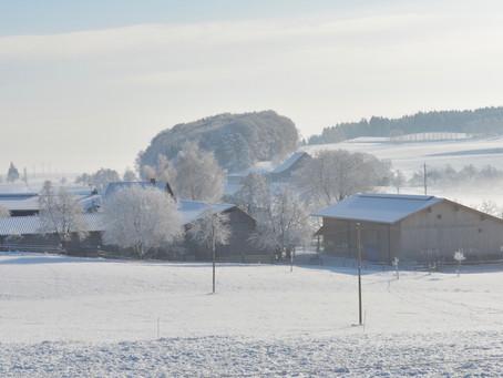 Endlich ist der Winter da!