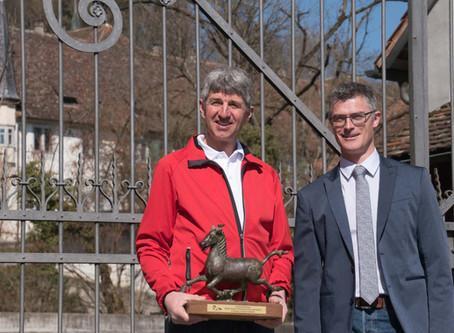 Drei Auszeichnungen für Markus und Kóngur frá Lækjamóti !