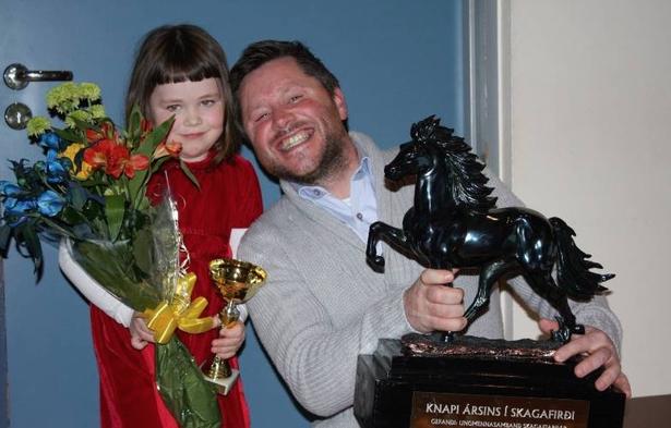 Reiter des Jahres vom Norden Islands