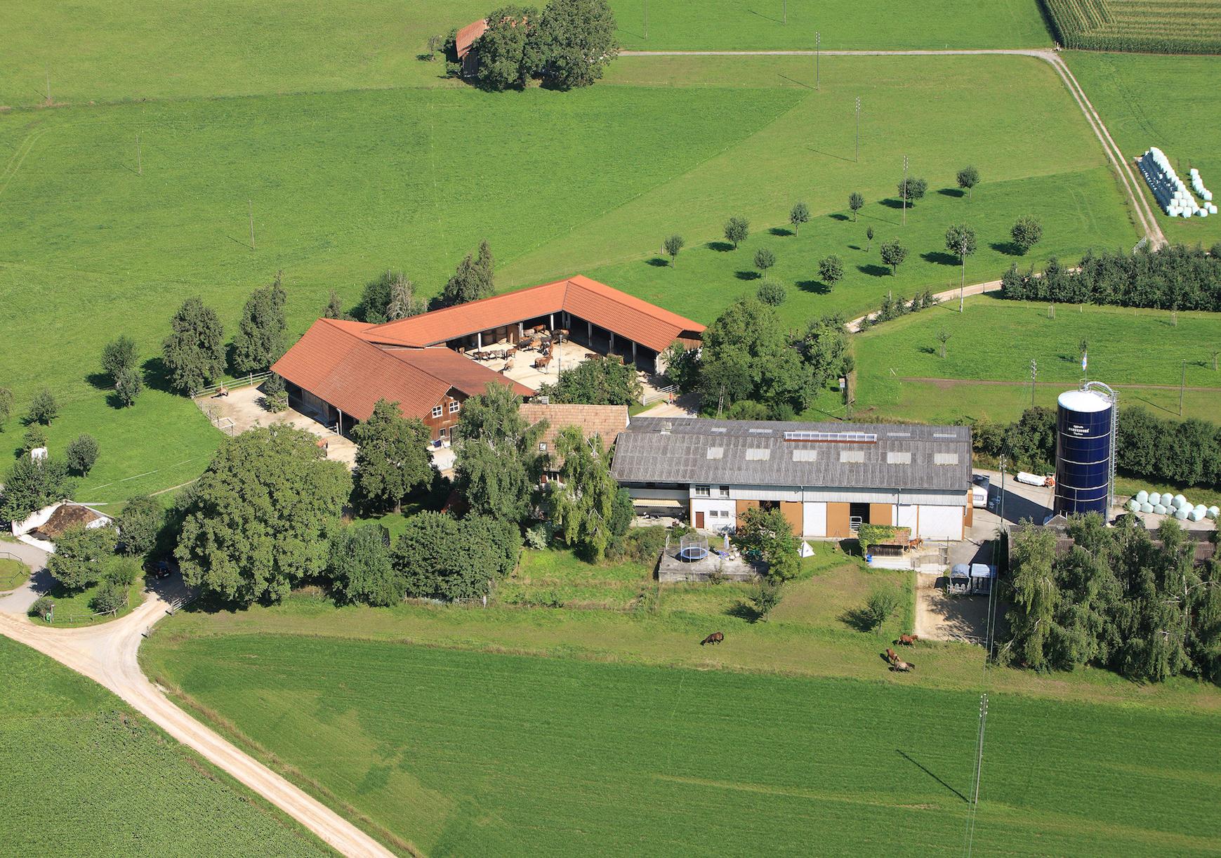 Unser Hof | Luftaufnahme 2010