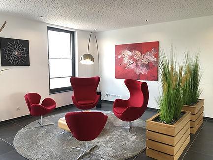 Empfangs Lounge ADJUVANTIS