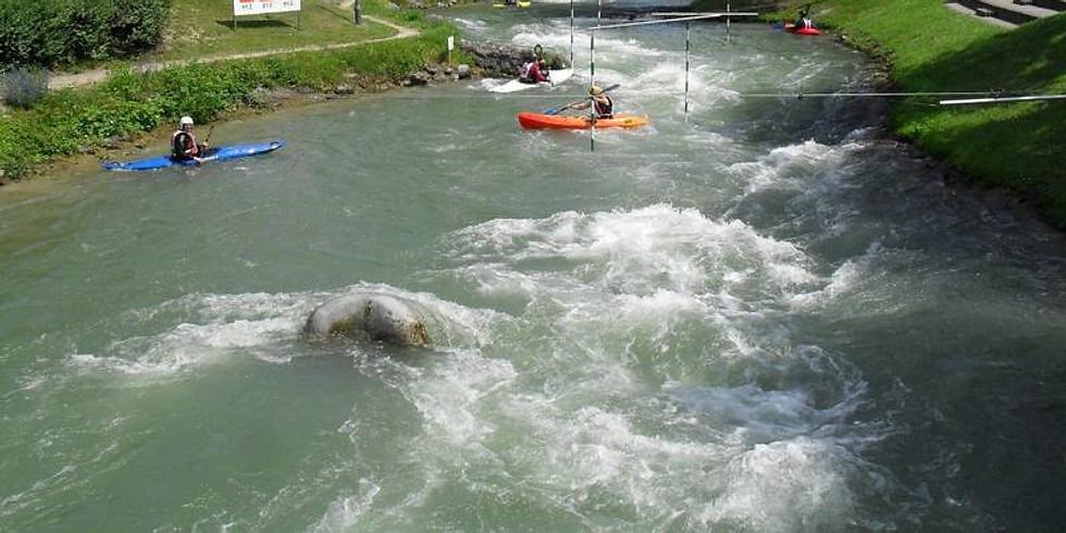 Club-Tour Wildwasserkanal Hüningen